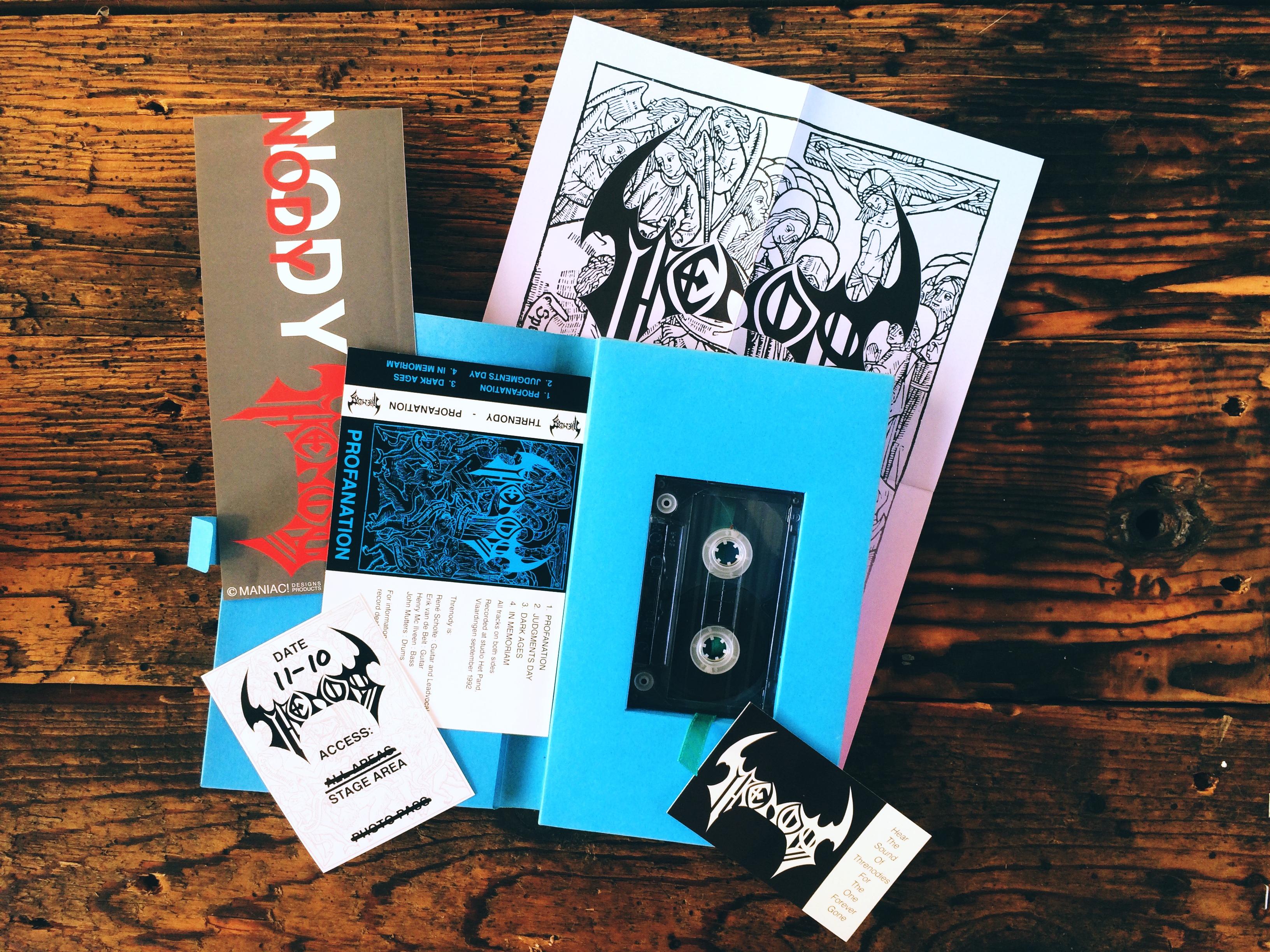 Profanation 1992 - Press kit